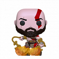 Фигурка Funko POP! Vinyl: Games: God Of War: Kratos W/Blades (GW) (Exc) 36392  купить на официальном сайте Wacko Shop